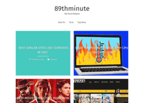 89thminute.co.uk