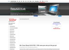 8th-class.result2014.pk