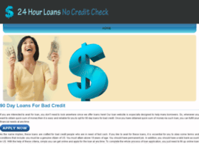90.day.loans.for.bad.credit.24hourloansnocreditcheck.com