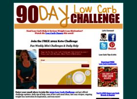 90daylowcarbchallenge.com