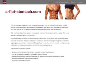 a-flat-stomach.com