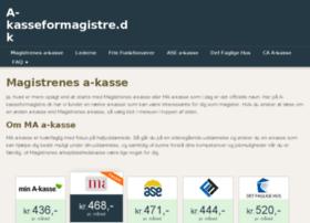 a-kasseformagistre.dk