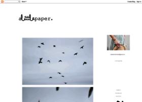 a-little-paper.blogspot.fr