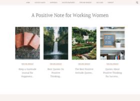 a-positive-note.com