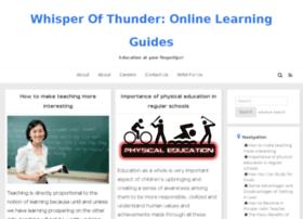 a-whisper-of-thunder.com