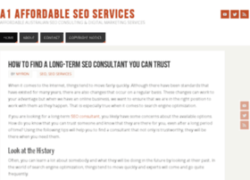 a1affordableseoservices.com