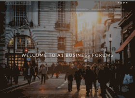 a1businessforums.co.uk