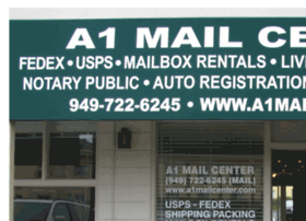 a1mailcenter.com