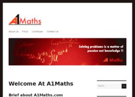 a1maths.com