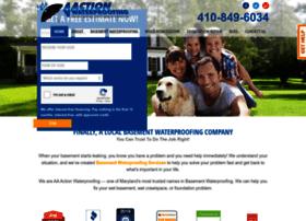 aaactionwaterproofing.com