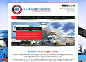 aaafreightservices.com