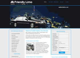 aaafriendlylimo.com