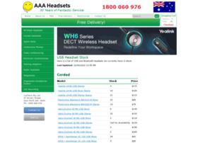 aaaheadsets.com.au