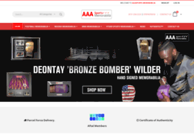 aaasportsmemorabilia.co.uk