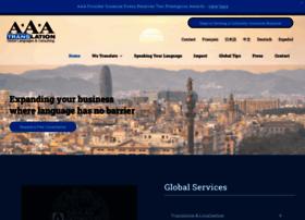 aaatranslation.com