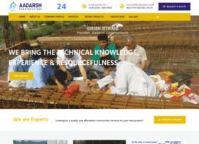 aadarshconstructions.co.in