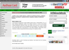 aadhaarcard2013.in