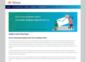 aadharcarddownload.in
