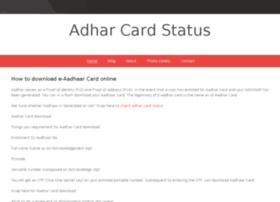 aadharcardstatus.webs.com