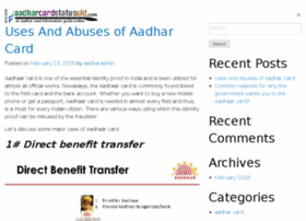 aadharcardstatusuid.com