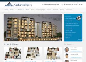 aadharinfracity.com