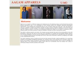aagamapparels.com