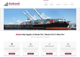 aakashshipsuppliers.com