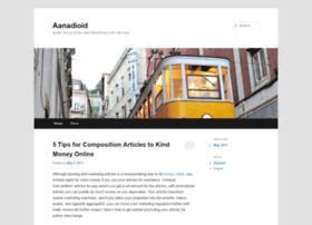 aanadioid.wordpress.com