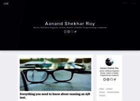 aanandshekharroy.com