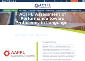 aappl.actfl.org