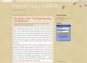 aarifs.blogspot.com