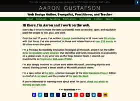 aaron-gustafson.com