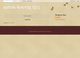 aaron-koenig.blogspot.com
