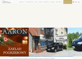 aaron.uslugipogrzebowe.com.pl