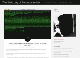 aaronjaramillo.org