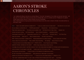 aaronsstrokechronicles.blogspot.com