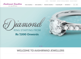 aashirwadjewellers.com