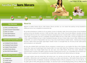 aasthapackersmovers.com