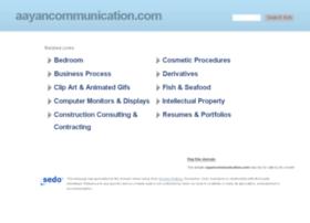 aayancommunication.com