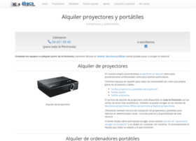 abacoproyectores.com