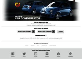 abarthcarconfigurator.com