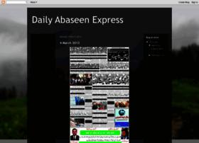 abaseenexpress.blogspot.in