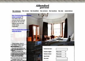 abbotsfordguesthouse.co.uk