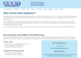 abbyappliances.com