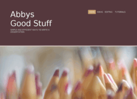 abbys-good-stuff.com