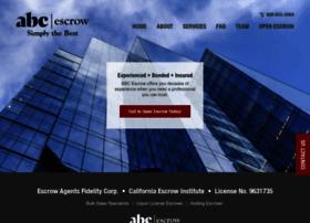 abcescrow.com