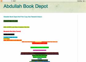 abdullahbookdepot.blogspot.com