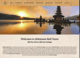 abhiramabalitours.com