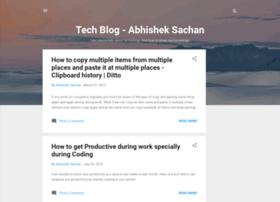 abhisheksachan.blogspot.com.tr