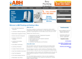 abhplumbingandheating.co.uk